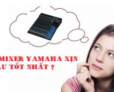 ban mixer yamaha