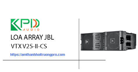 Loa Array JBL VTX V25-II-CS