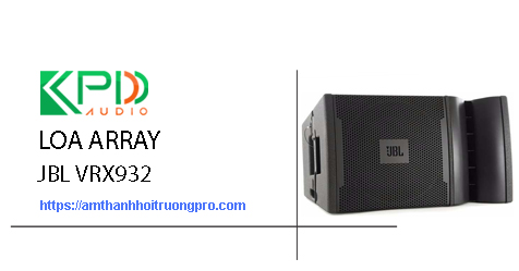 Loa Array JBL VRX932