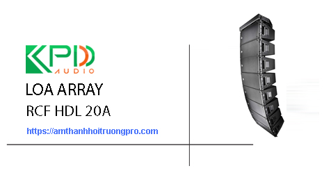 Loa Array RCF HDL 20A