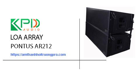 Loa Array Pontus Ar212