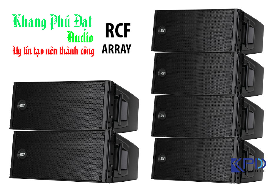 loa line array rcf